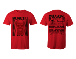 Women's T-Shirt Red MOA 2017