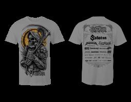 Men's T-Shirt ROA - grey
