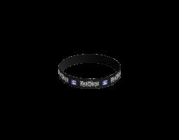 Silicone bracelet ROA - black