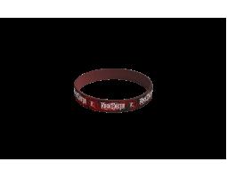 Silicone bracelet ROA - red