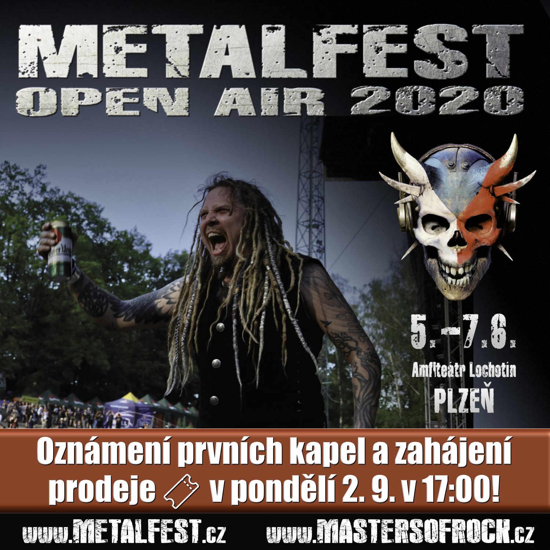 Metalfest pilsen 2020